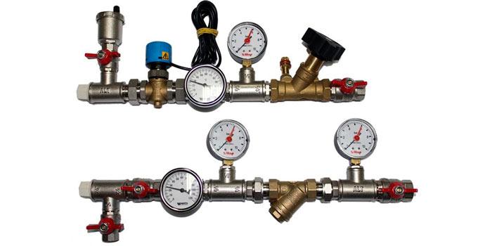 Монтаж трубопроводной обвязки